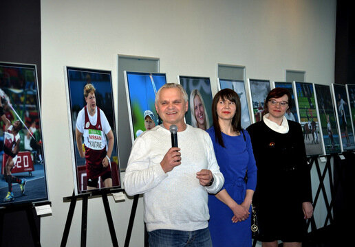"Photo exhibition ""You are. You can. Rio"" presented in Daugavpils"