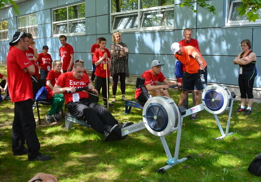 400 players meet for the Paralympic Sports' Day