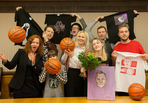 K. Porzingis T-shirt design competition awards