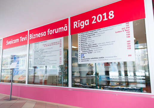 Business forum takes place in Riga